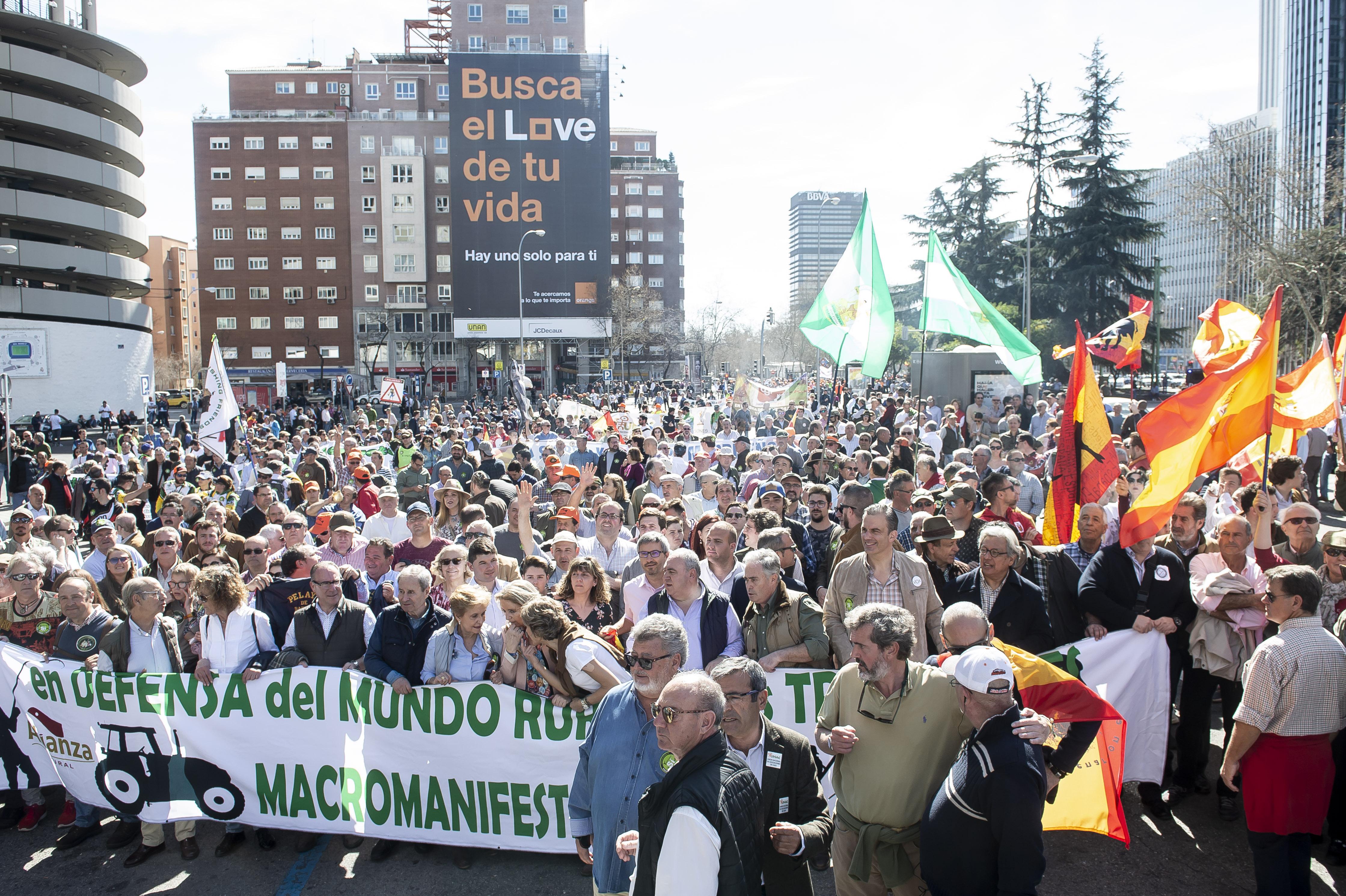Última gran manifestación en favor de la España rural en marzo de 2019 en Madrid / Gtres