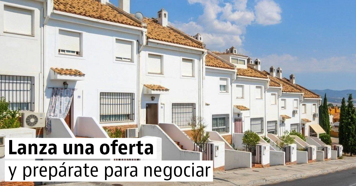 Casas que admiten ofertas