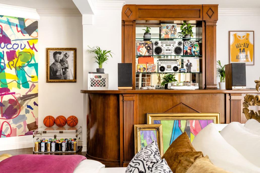 Detalle del dormitorio / Airbnb
