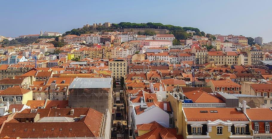 Imagen de Lisboa desde el aire / pxfuel.com