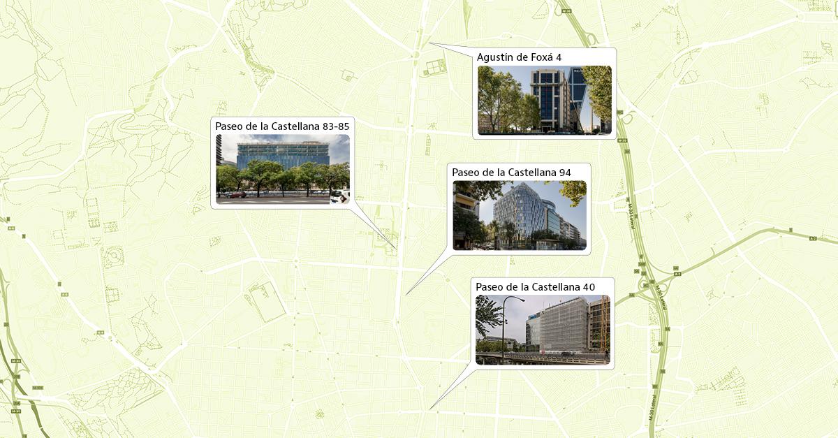 Imagen de los cuatro proyectos que verán la luz en 2021