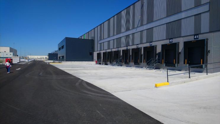 Imagen de una plataforma logística de Nuveen en Illescas (Toledo) / Nuveen Real Estate