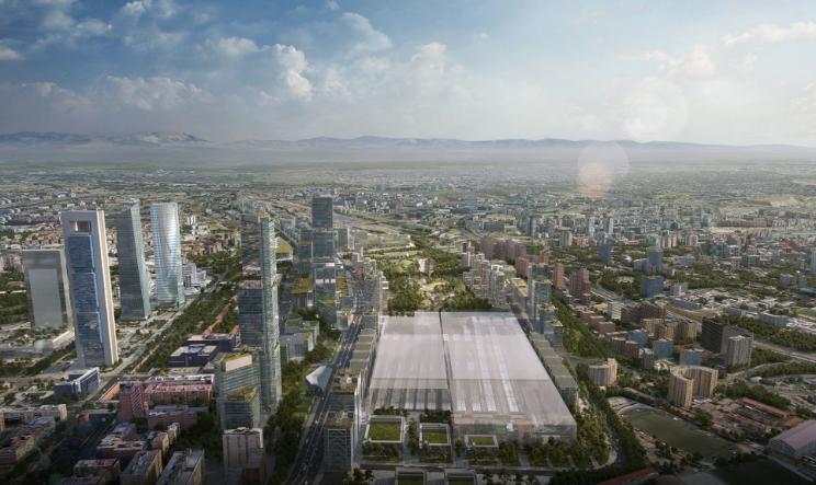 Imagen de Madrid Nuevo Norte, donde Pryconsa ha comprado una parcela / DCN