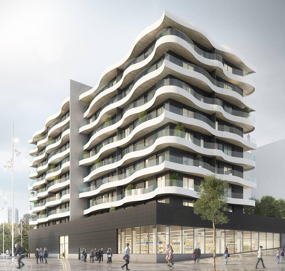 Proyecto residencial adquirido / Patrizia