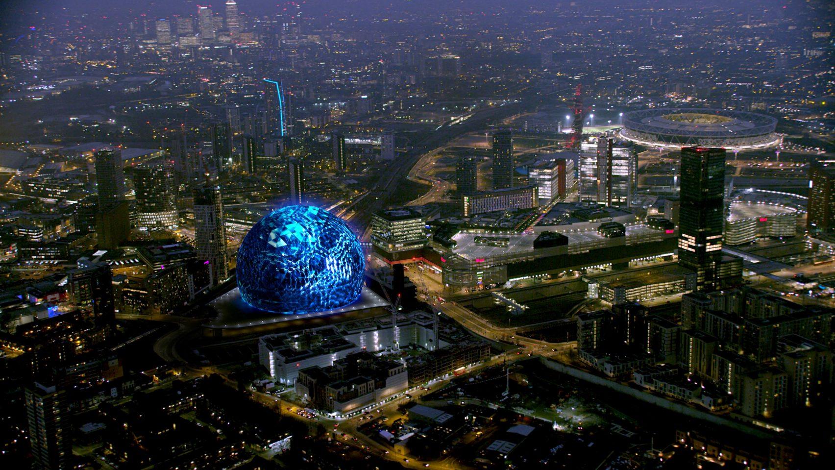 MSG Sphere, Londres, Reino Unido, de Populous