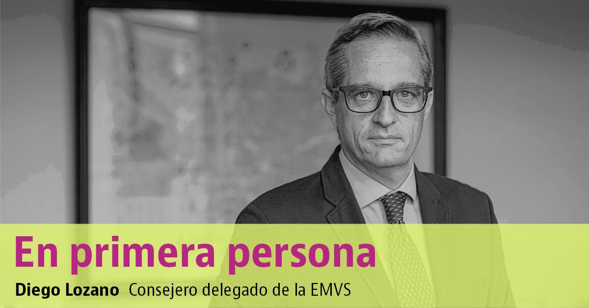 Diego Lozano, consejero delegado de la EMVS