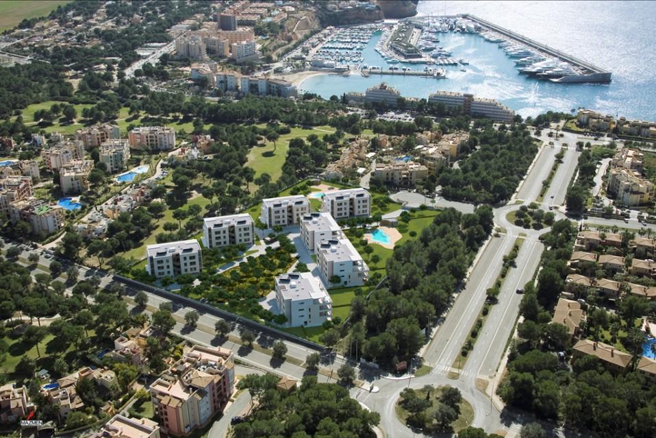 Imagen de varias promociones de viviendas en la costa esapañola. / Taylor Wimpey