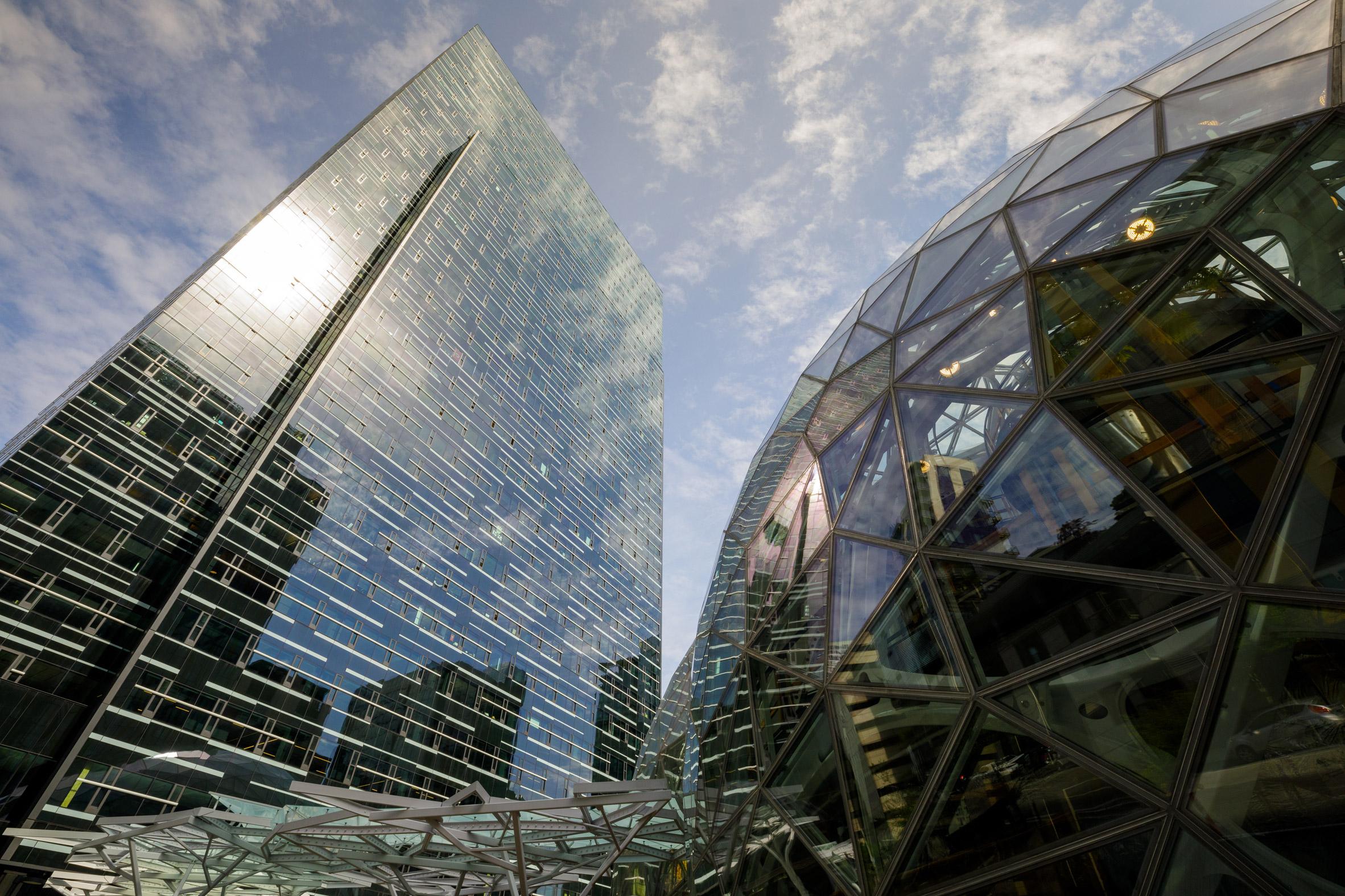 Amazon Spheres, Seattle, EEUU, de NBBJ