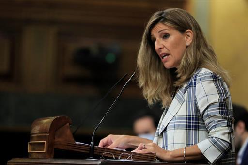 Yolanda Díaz, ministra de Trabajo / La Moncloa