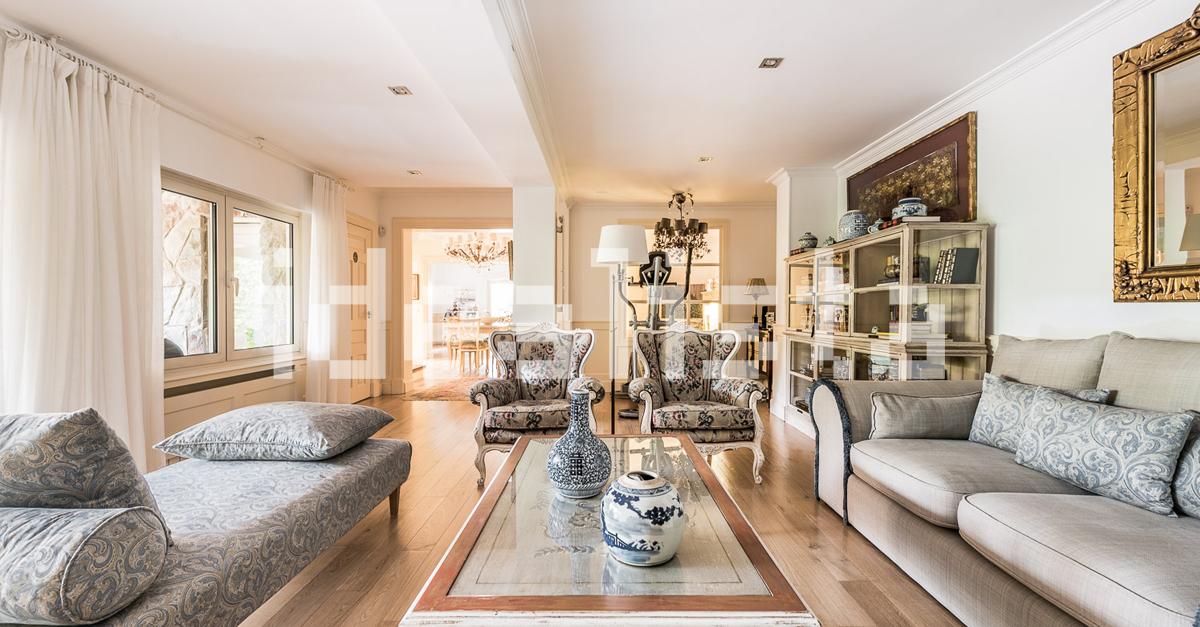 La vivienda cuenta con 185 m2
