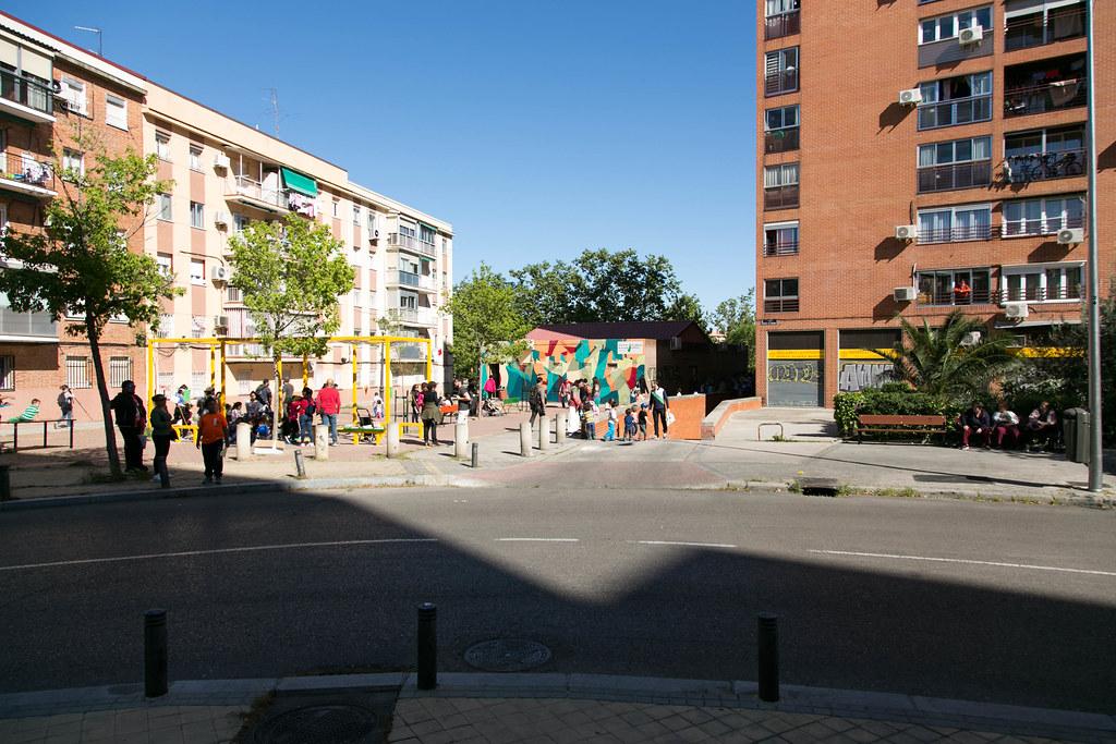Imagen de un barrio de Puente de Vallecas (Madrid) / Flickr/Creative commons