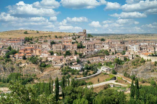 Vista general de Sepúlveda (Segovia)