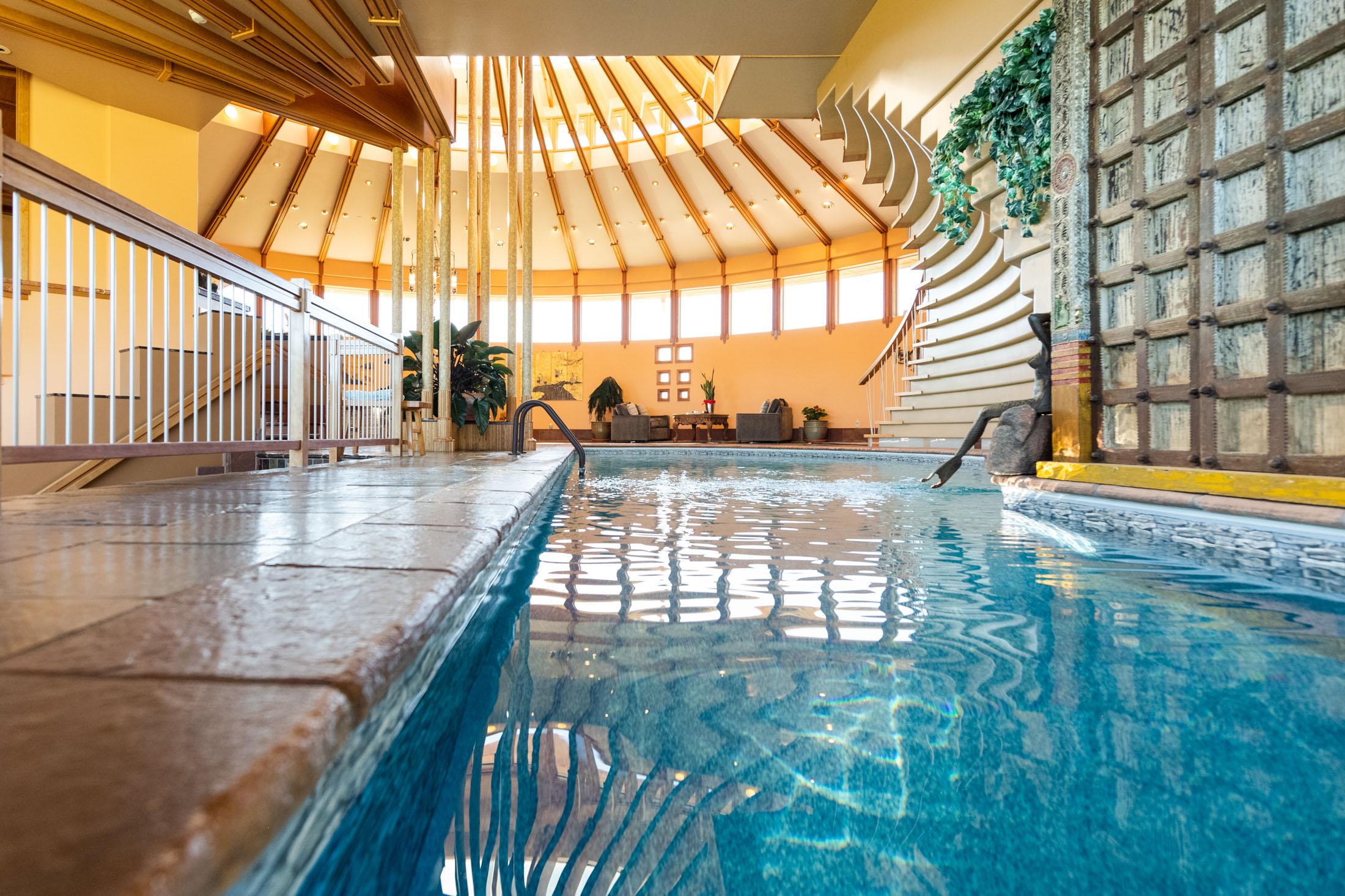 Detalle de la piscina / Sotheby's International Realty