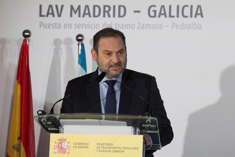 El ministro de Transportes, Movilidad y Agenda Urbana (Mitma), José Luis Ábalos / Gtres