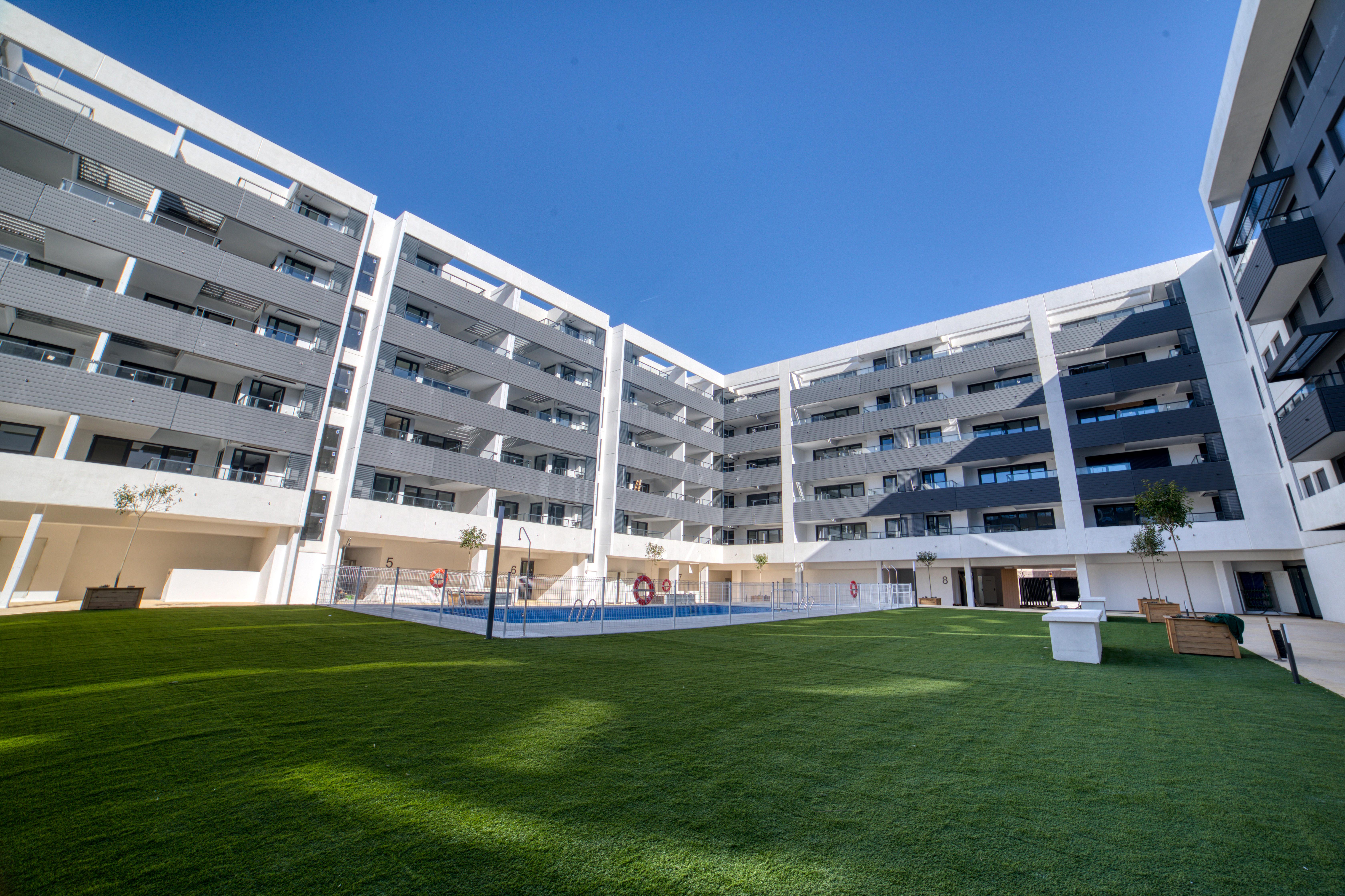 EdificioInfinity, en Getafe, el primer residencial Passivhaus en altura de la Comunidad de Madrid / PEP