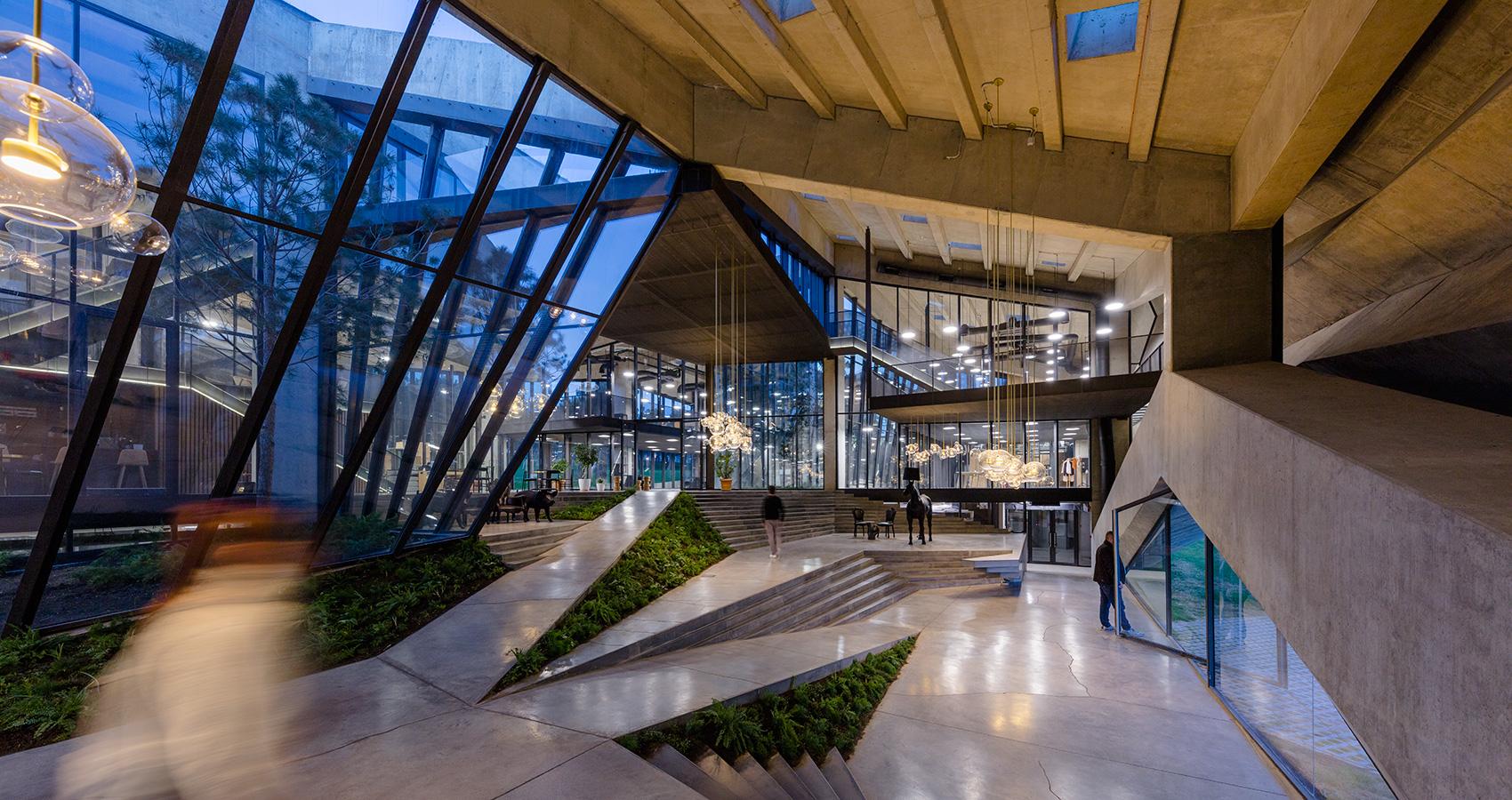 Es un proyecto de Giorgi Khmaladze Architects