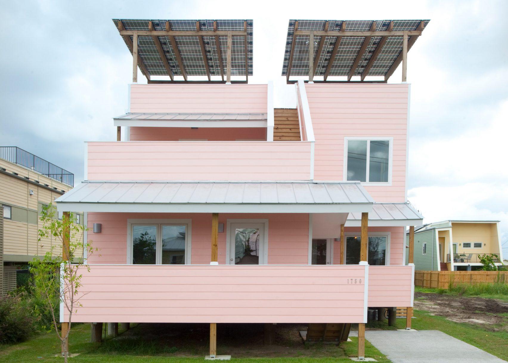 La vivienda diseñada por Frank Ghery / Make it Right Foundation