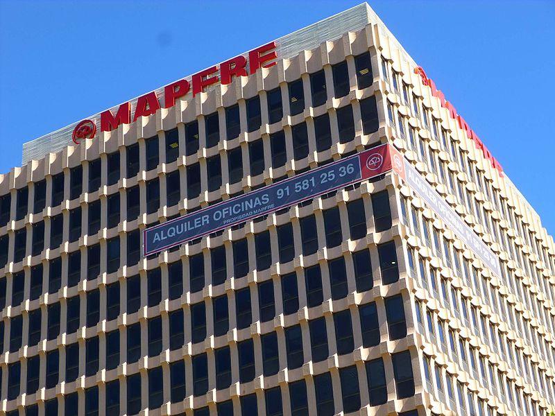 Edificio Mapfre en Madrid / Wikimedia commons