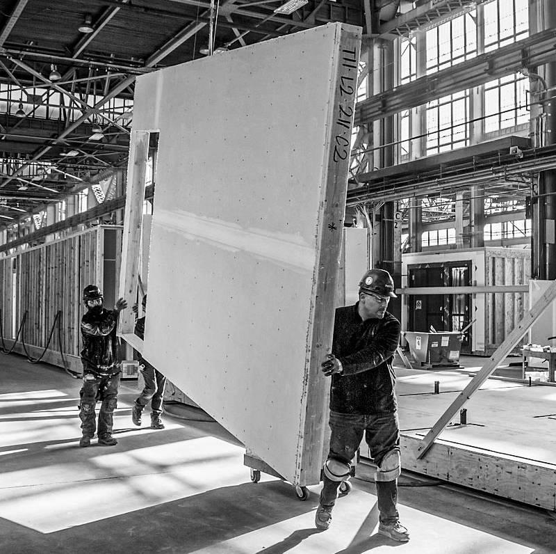 Plataforma para la industrialización inmobiliaria