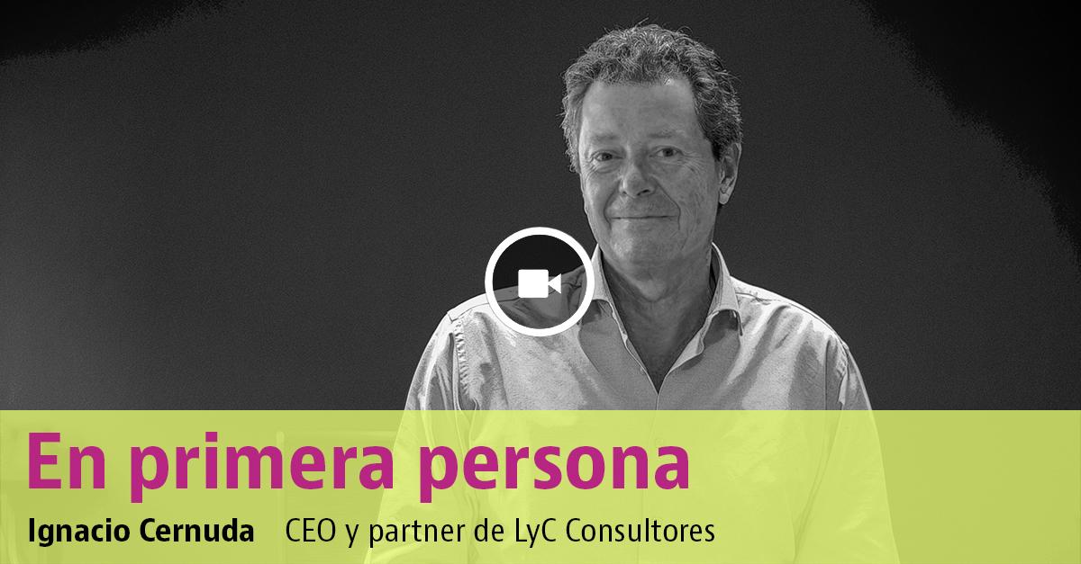 Ignacio Cernuda, CEO de LyC Consultores