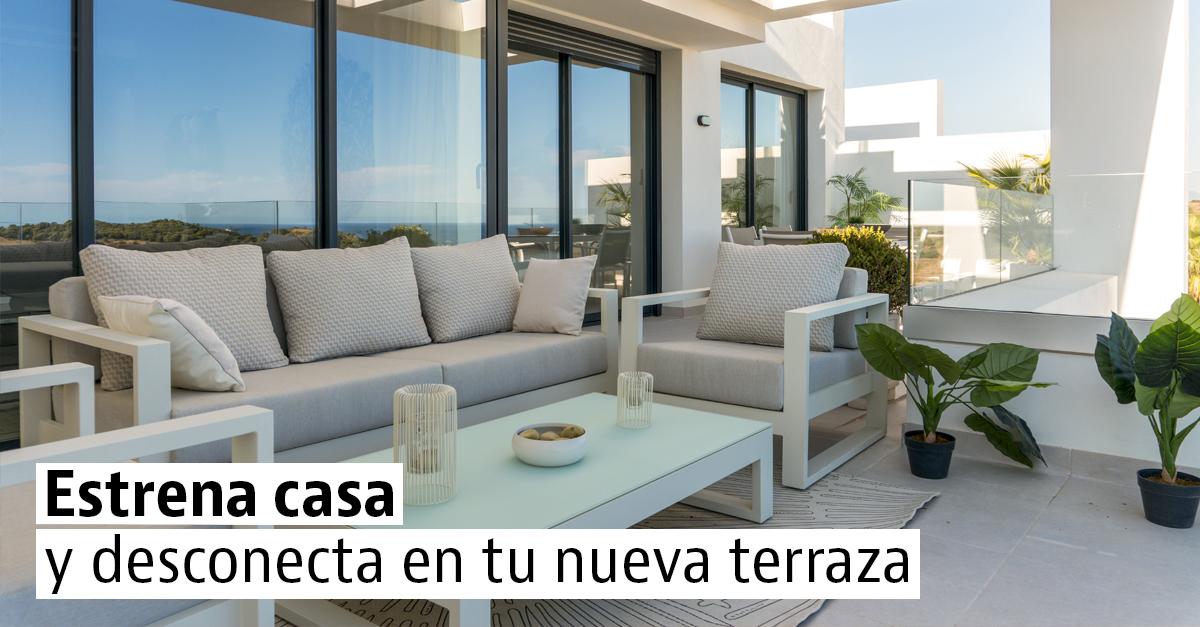 Casas nuevas en venta con terraza