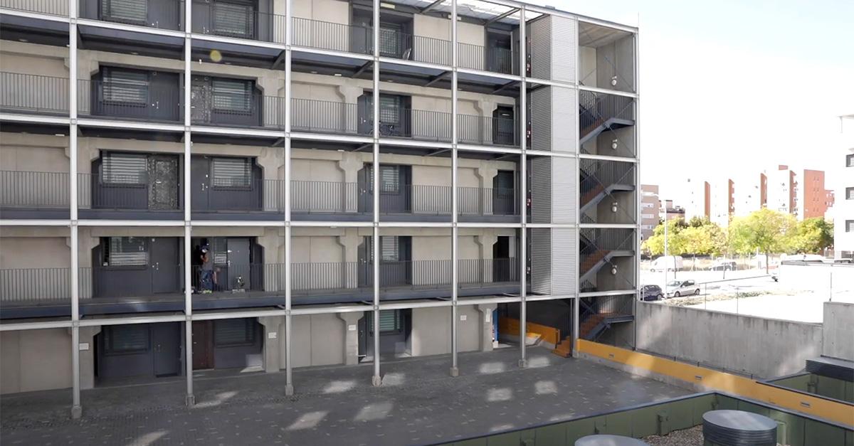 Fachada de las viviendas / Ayuntamiento de Madrid