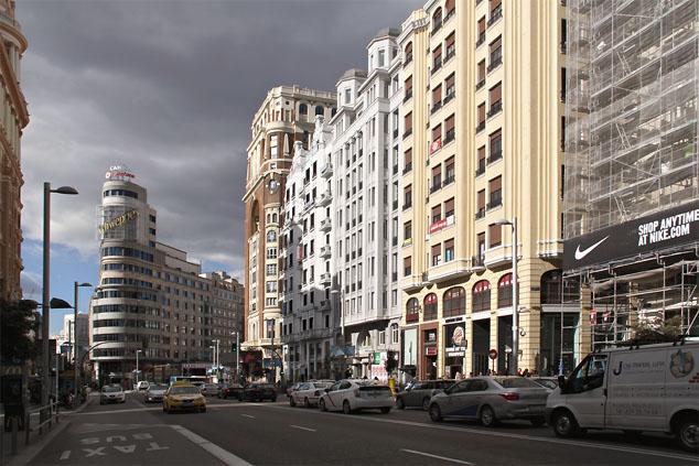 Gran Vía (Madrid) / Gtres