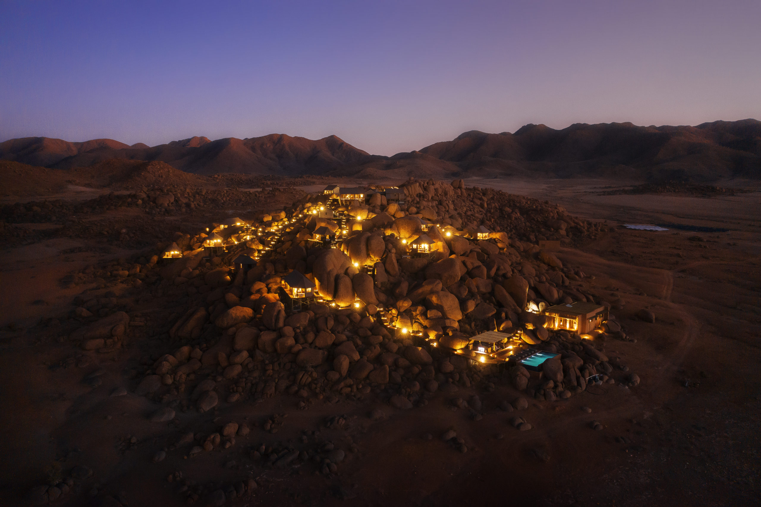 Vista aérea / Tibo Dhermy/Zannier Hotels