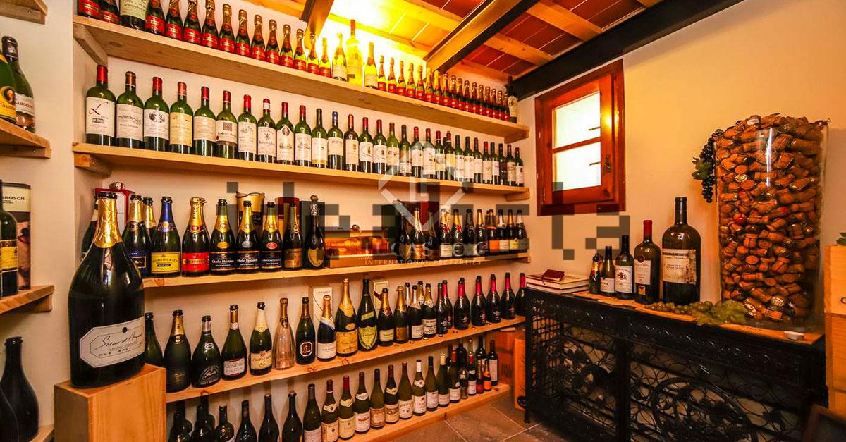 Sala de degustación de vinos