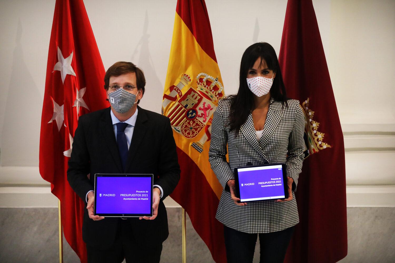 El alcalde, José Luis Martínez-Almeida, y la vicealcaldesa, Begoña Villacís, / Ayuntamiento de Madrid