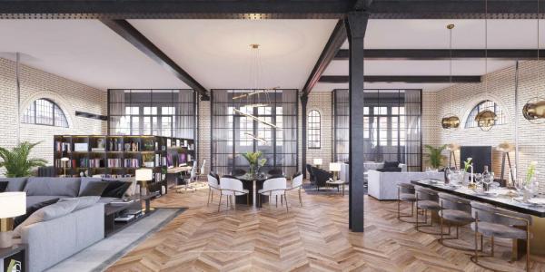Un concepto 'loft' que da amplitud