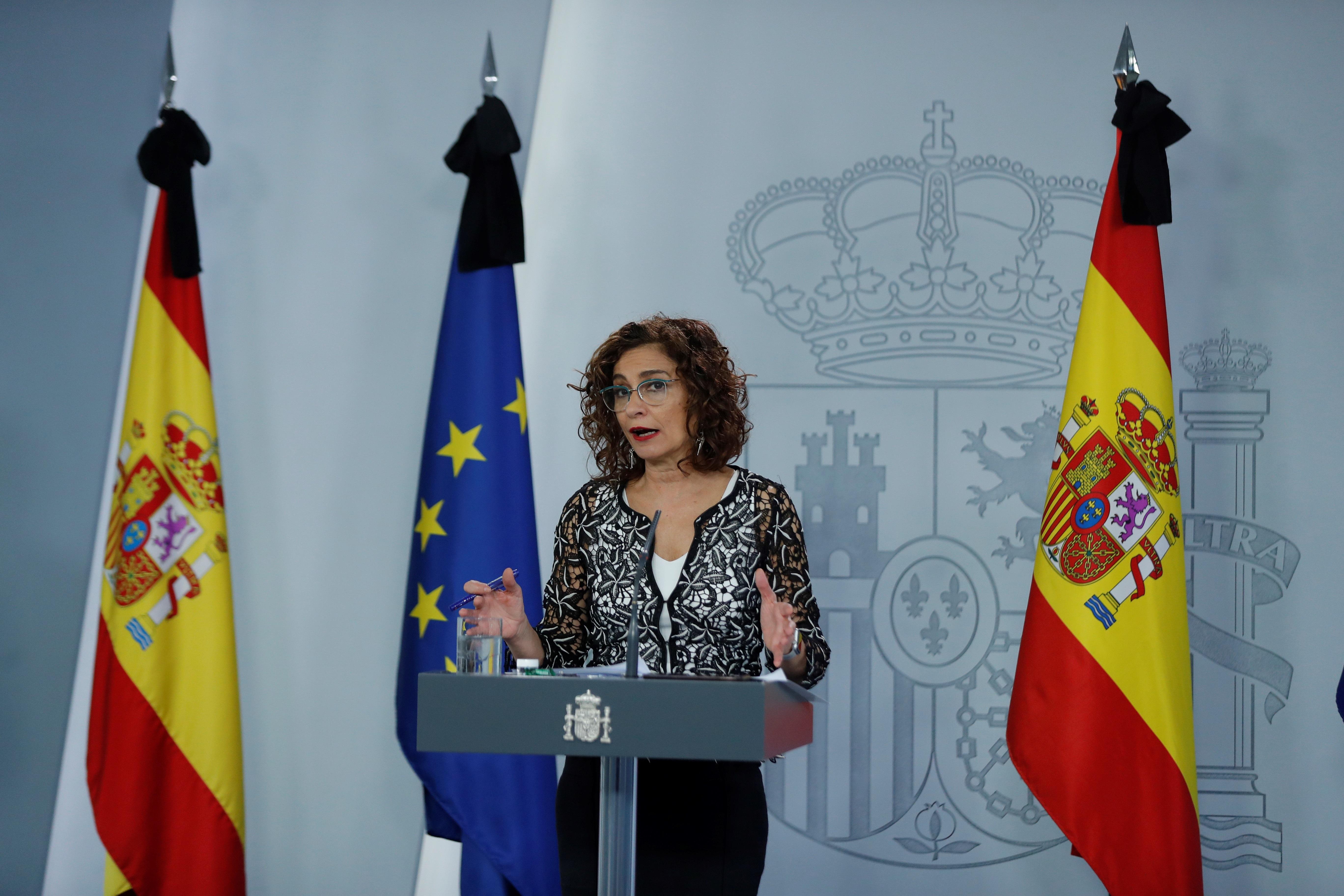 La portavoz del Gobierno, María Jesús Montero / Gtres