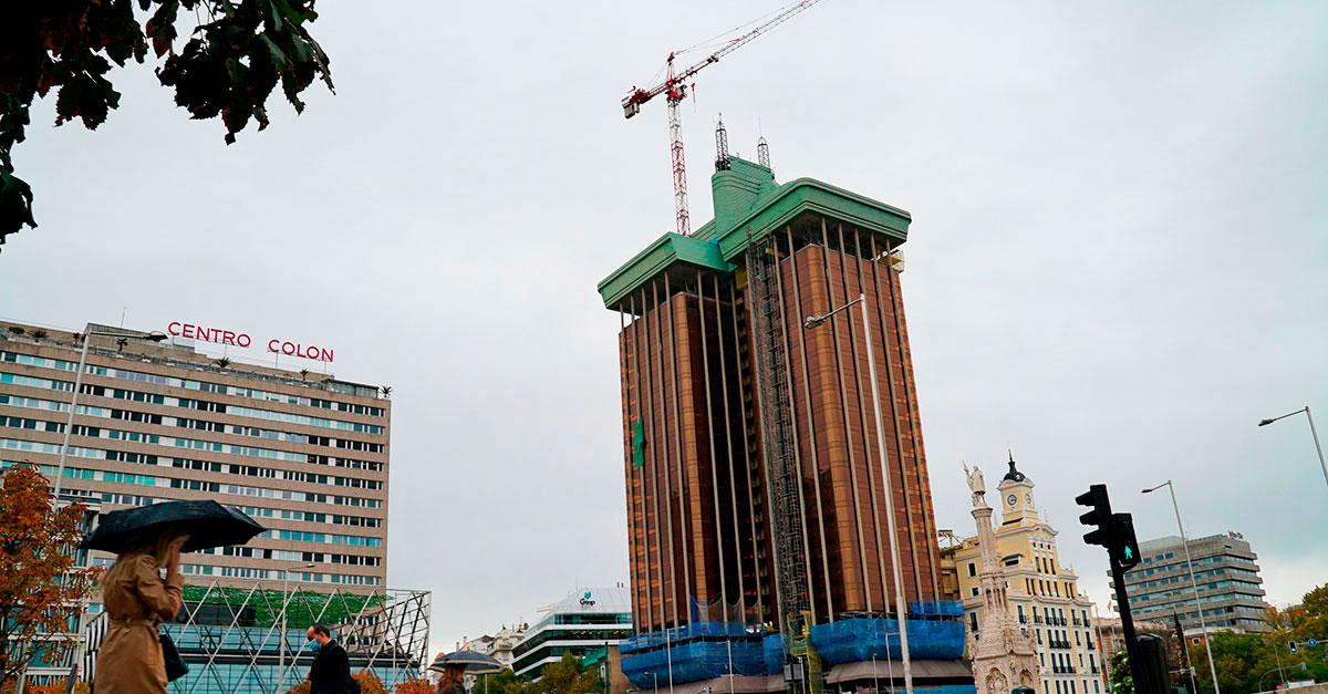 Dragados es la encargada de reformar el edificio