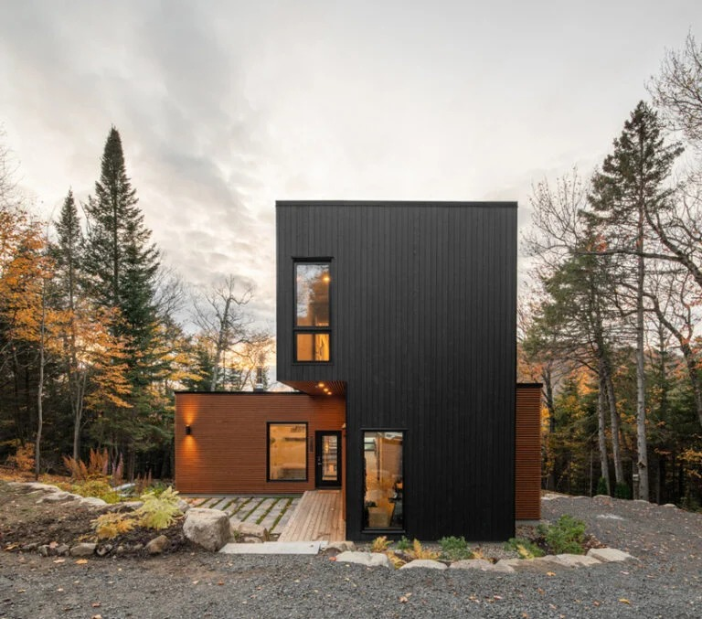 Vista exterior / David Boyer/Figurr architects collective