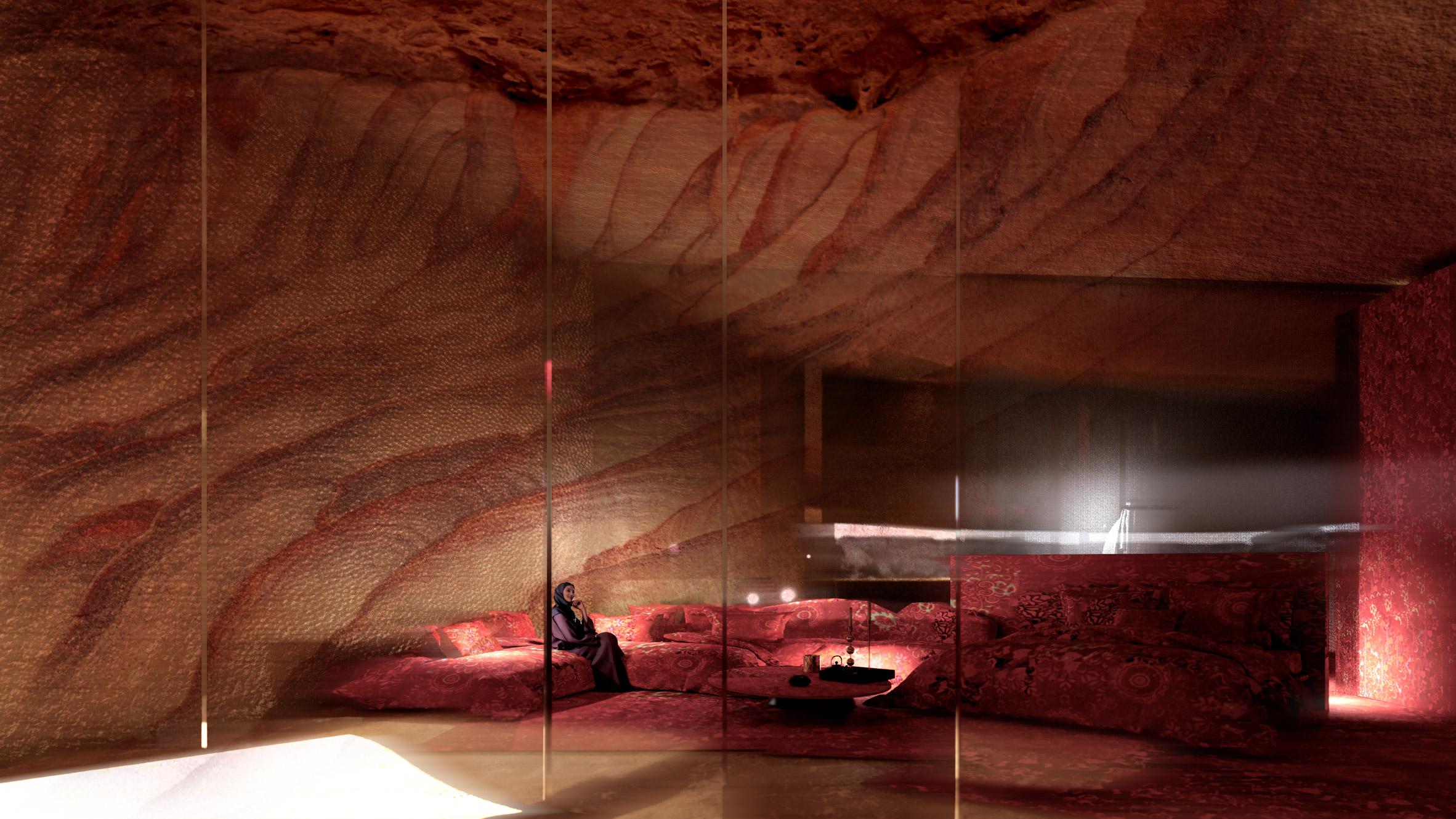 Suites / Sharaan by Jean Nouvel hotel in Saudi Arabia