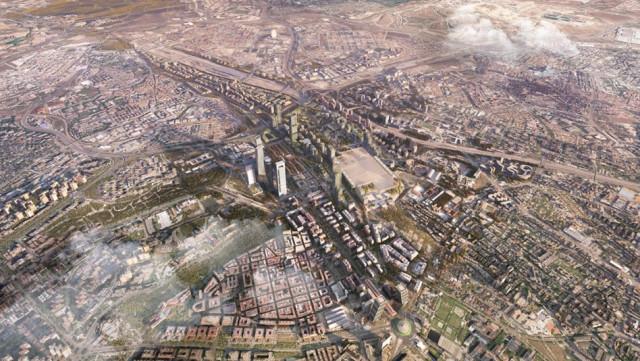 Recreación del proyecto / Madrid Nuevo Norte