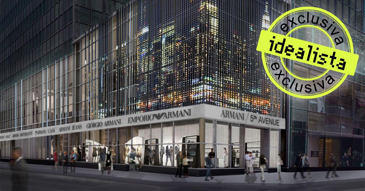 Flagship de Armani en Nueva York