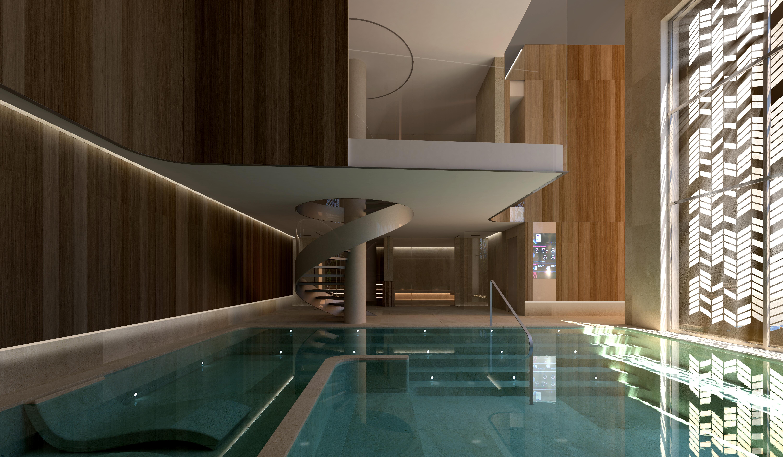 Un espacio de relax dentro del propio edificio