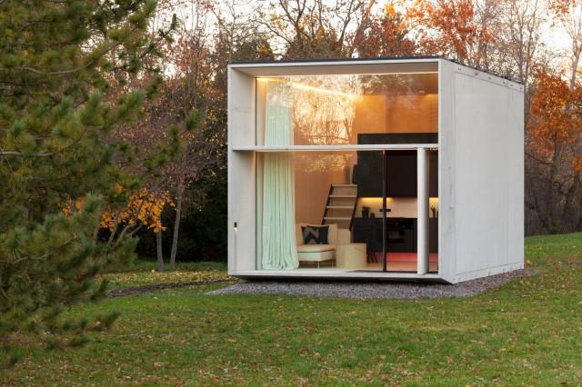 Una minicasa prefabricada, eficiente y lujosa que se construye en un solo día