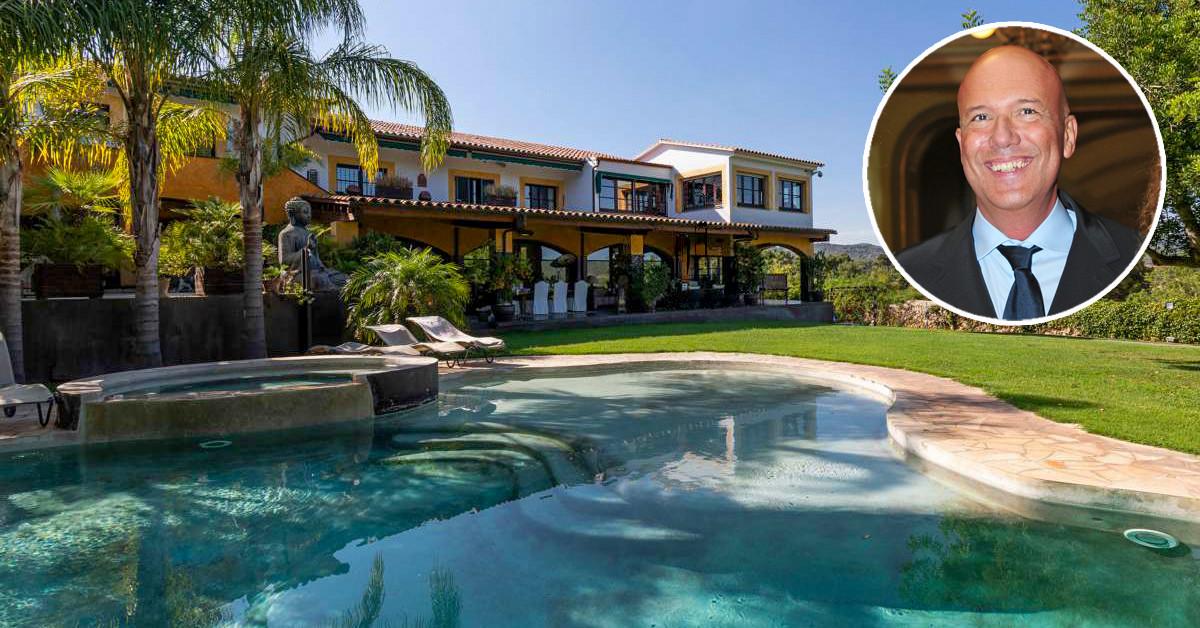 El presentador Alfonso Arús pone a la venta su casa en idealista por 2,9 millones