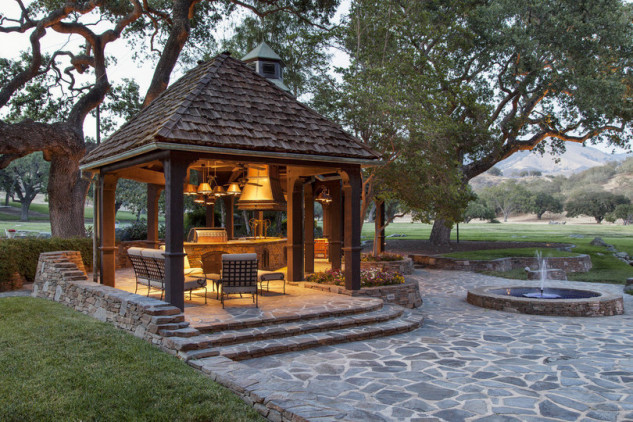 Cabaña para disfrutar del paseo / Jim Bartsch/Sycamore Valley Ranch