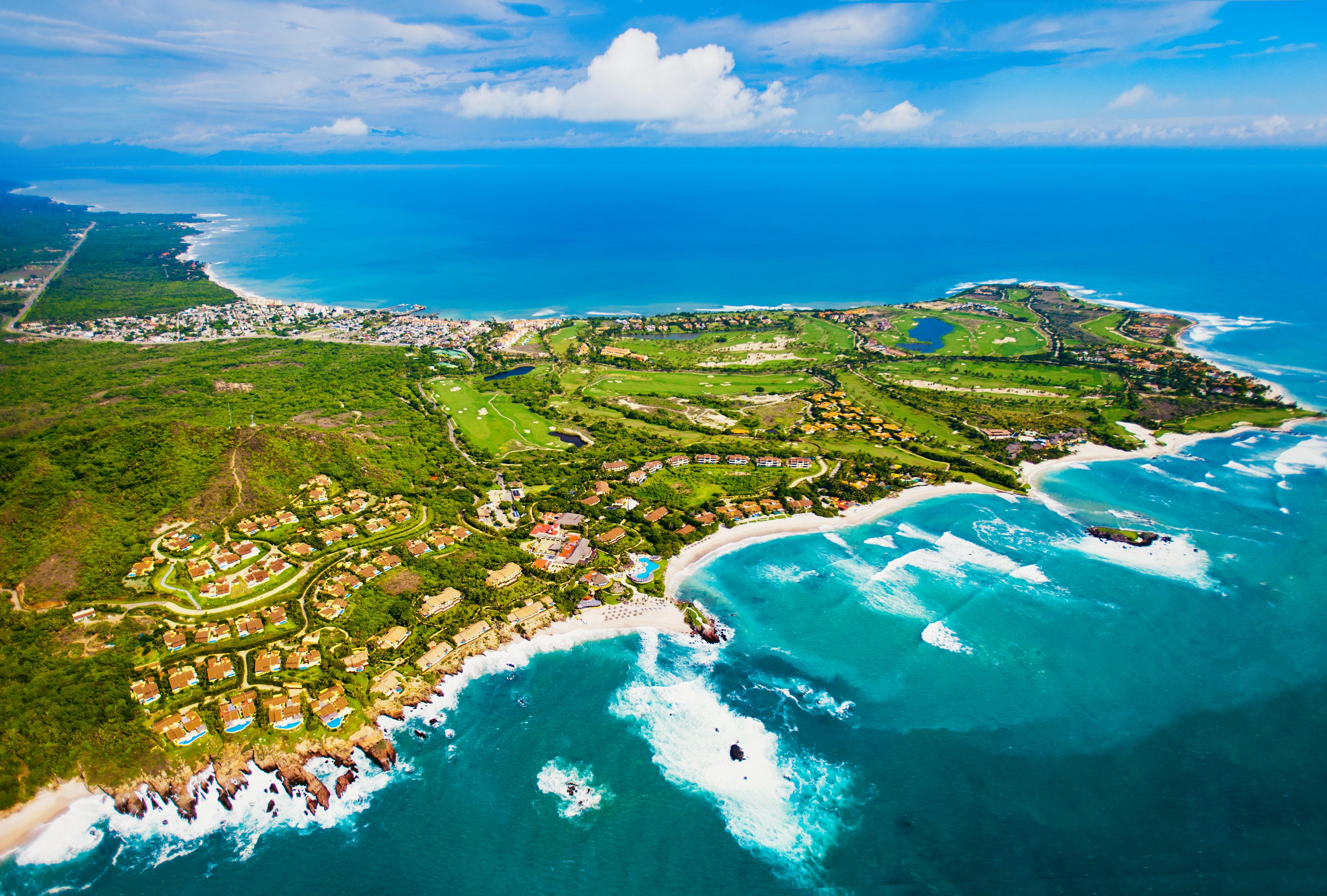 En la isla se encuentra un hotel Four Seasons