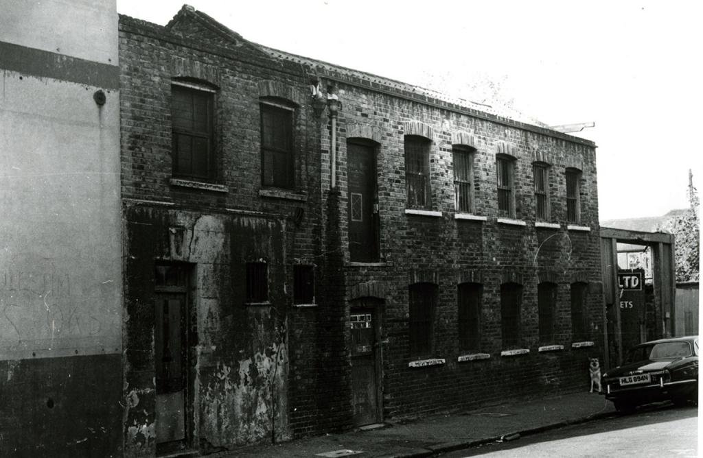 Era un taller victoriano