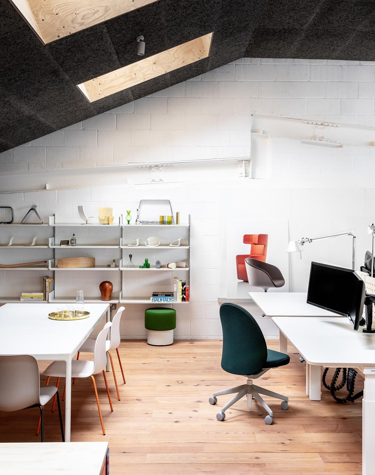 Ahora es un espacio de trabajo moderno