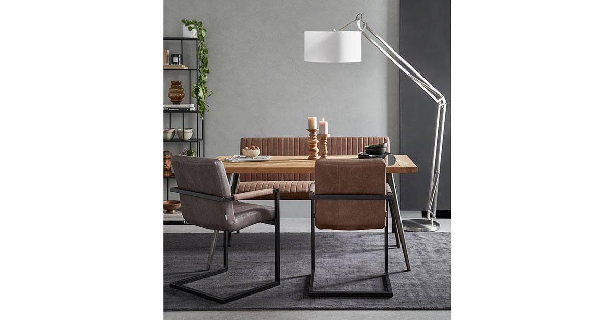 Elegancia industrial, un look sofisticado y moderno