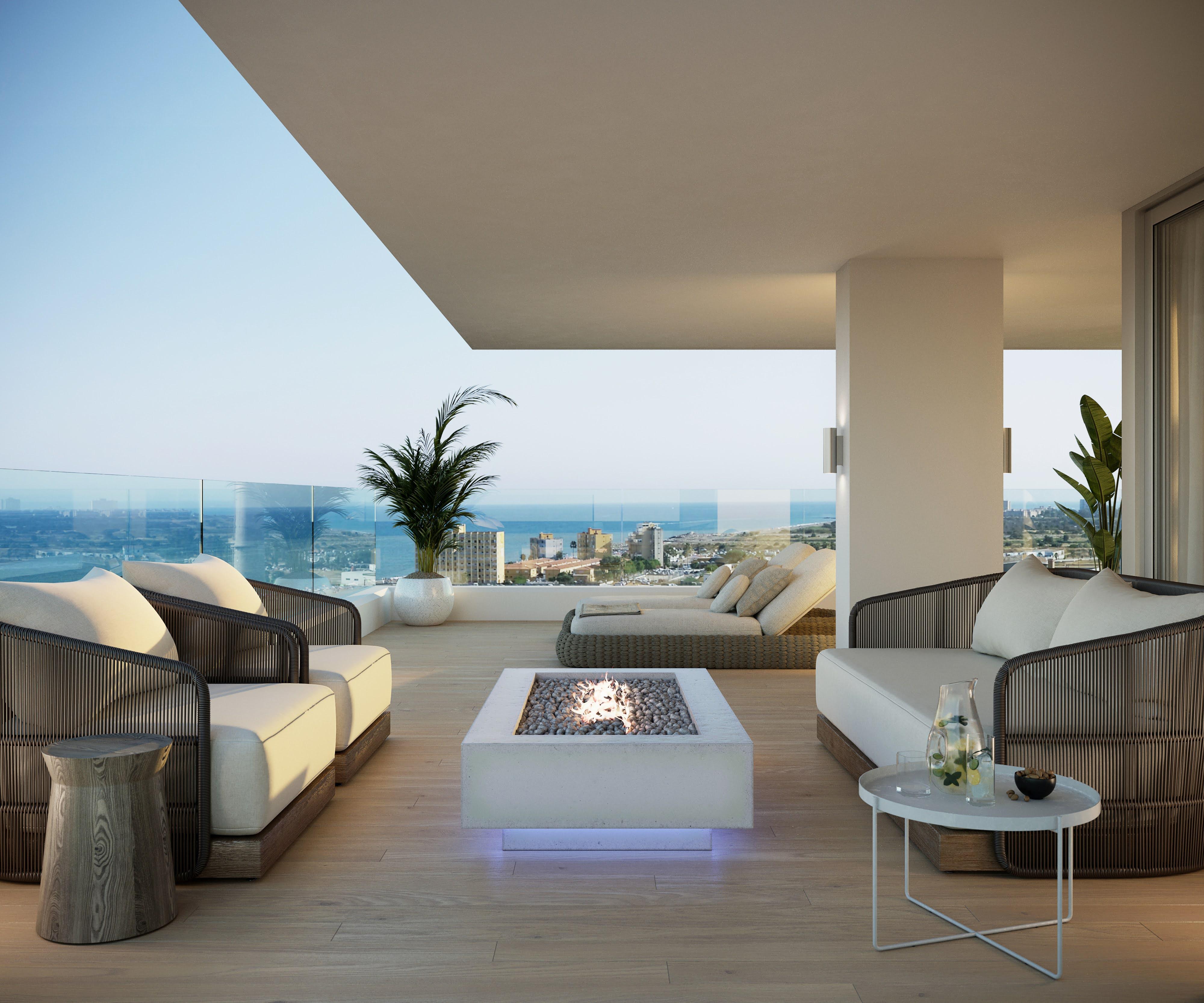 Zona de relax con vistas