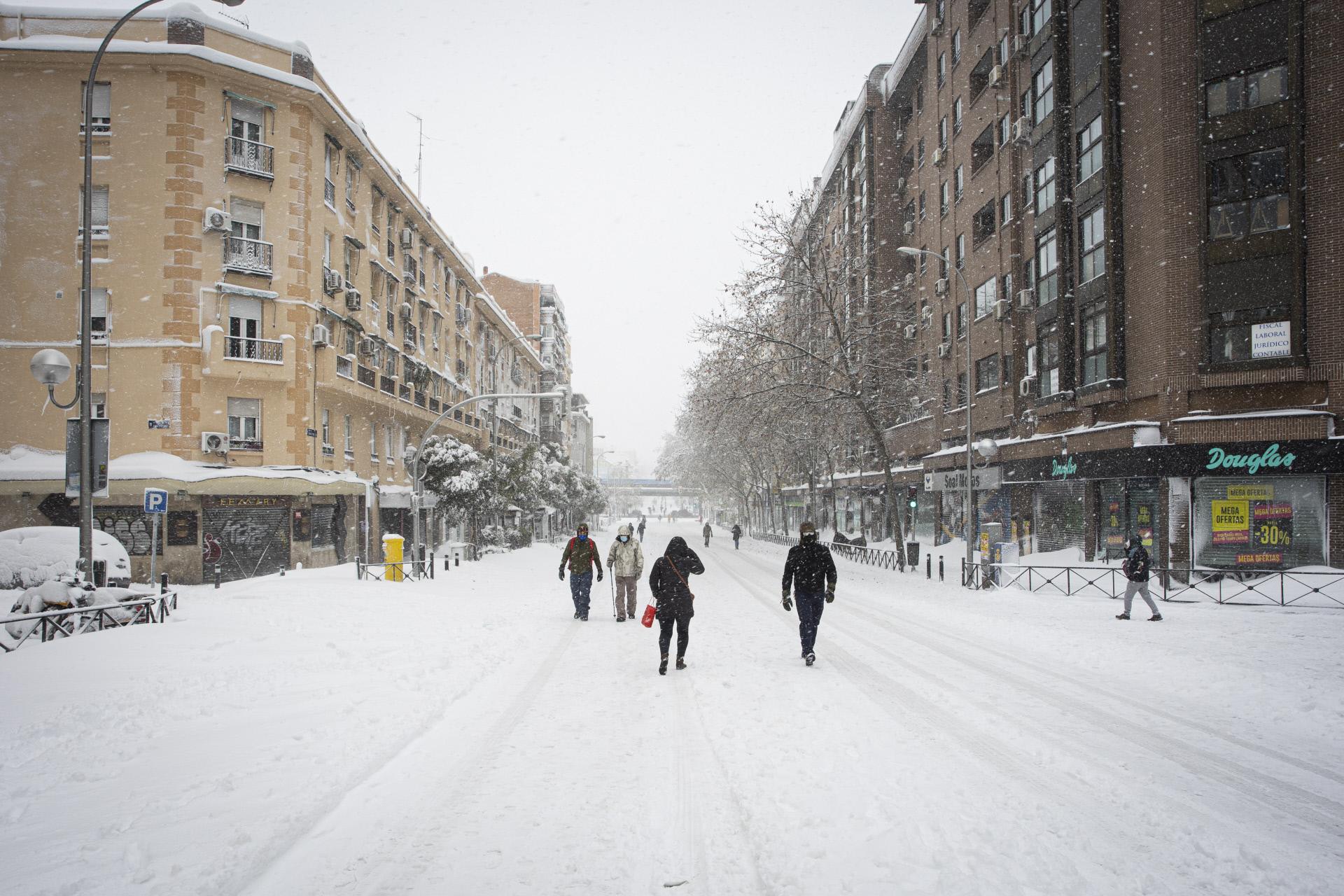 Madrid, colapsada por la gran nevada / Gtres