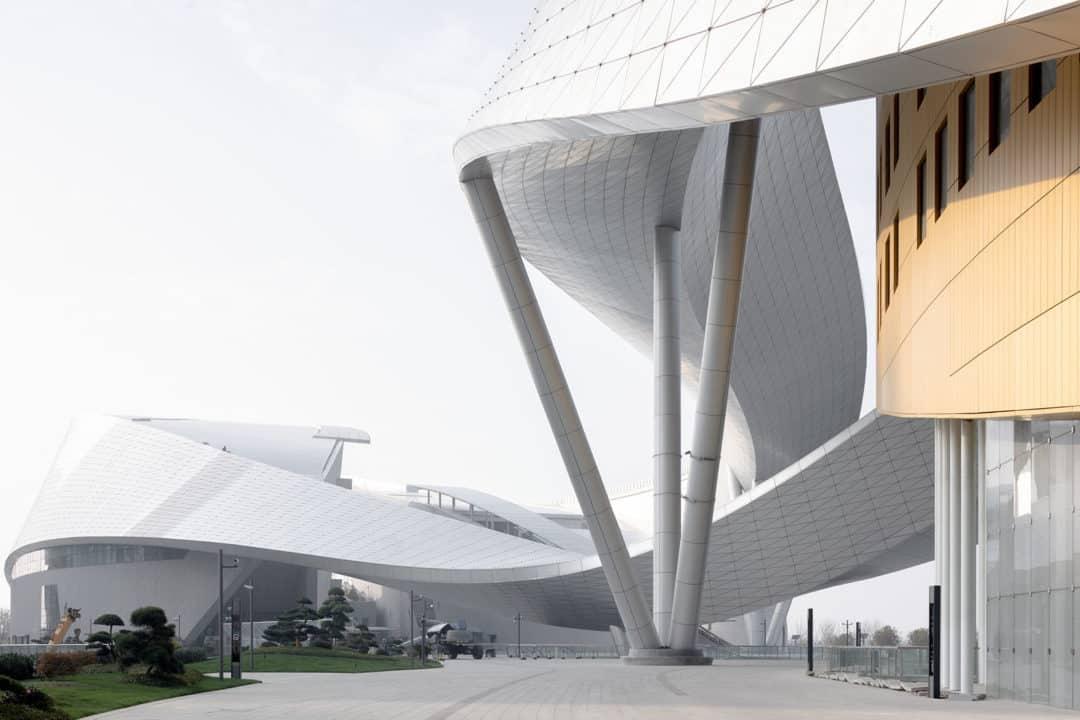 Es un proyecto del arquitecto francés Christian de Portzamparc