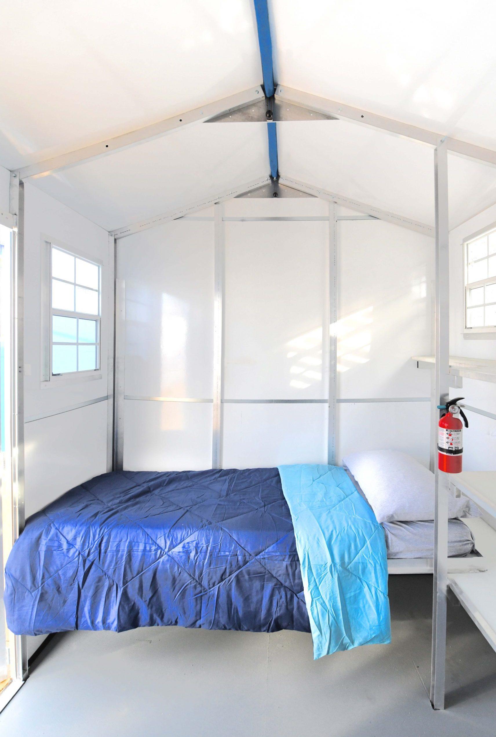 Un interior sencillo, pero práctico