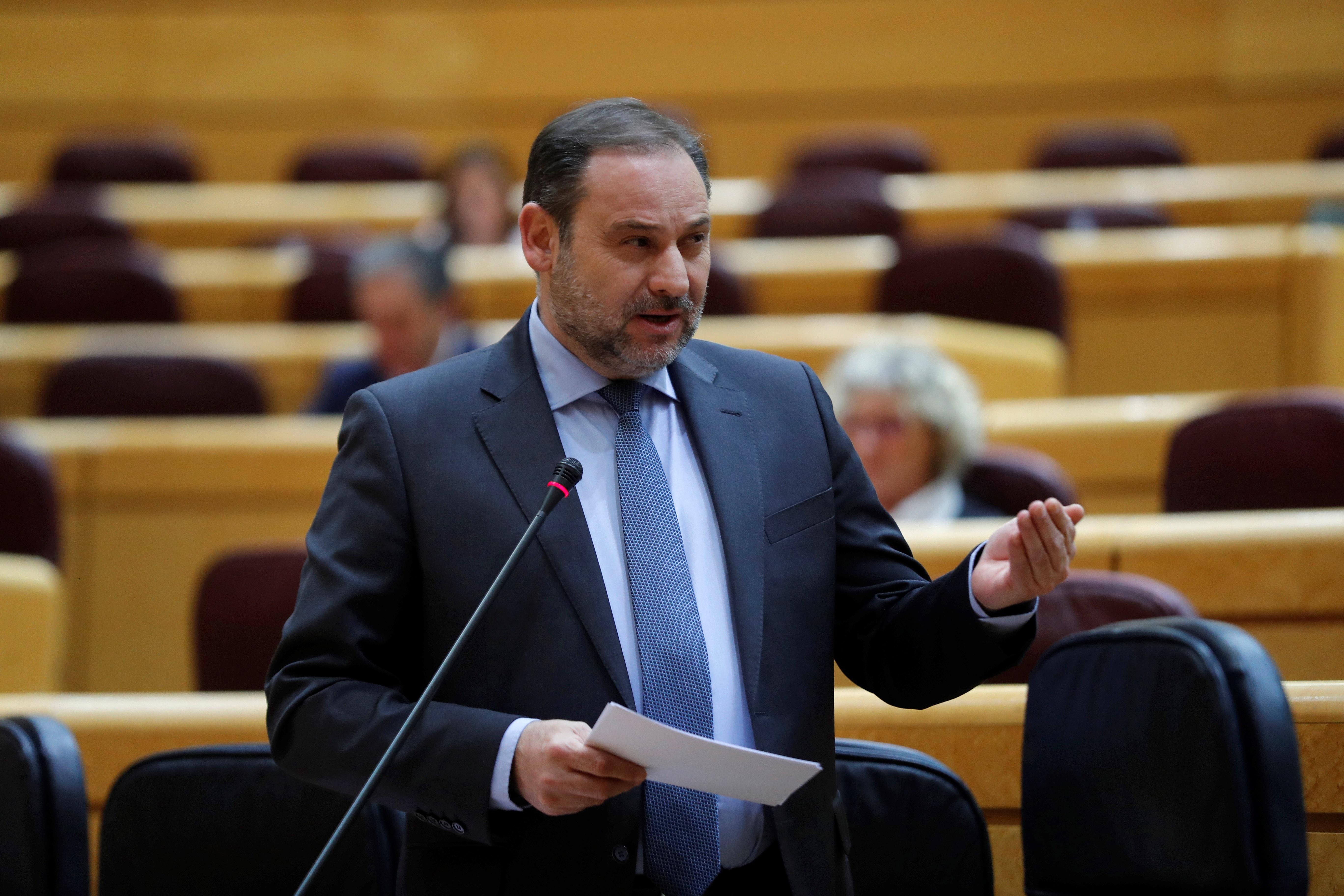 El ministro de Transportes, Movilidad y Agenda Urbana, José Luis Ábalos / Gtres